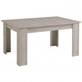 Esstisch 155 X 101 Cm Ausziehbar Portofino Grey Parisot Luneo Grau Holz Modern