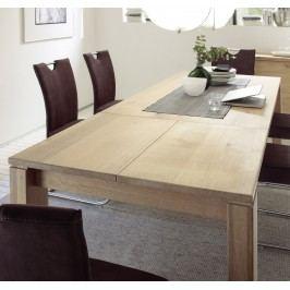 Esstisch 180 - 260 X 90 Cm Eiche Bianco Massiv Geölt Und Gewachst Quadrato Terano Holz Modern