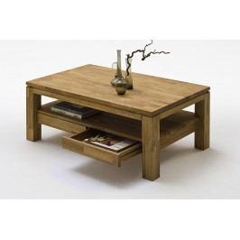 Couchtisch Asteiche Massiv Mca-Furniture Nodrog Zink Neutral