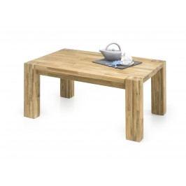 Couchtisch Eiche Massiv Geölt 110 X 70 Cm Mit Massiven Beinen Stolkom Melville Holz Modern
