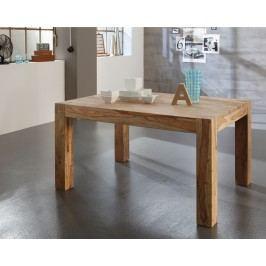 Esstisch 200 X 100 Cm Shisham Natur Massiv Wolf Möbel Yoga Holz Klassisch