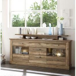 Sideboard Nussbaum Satin Trendteam Montreal Holz Modern