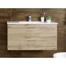 Waschtisch Wildeiche Mit Becken Bega Best Holz Modern