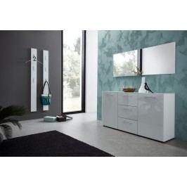 Garderobe In Weiss Hochglanz Germania Aelacs-Wg Weiß Holz Modern
