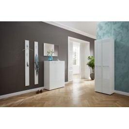 Garderobe In Weiss Hochglanz Germania Aelacs-Gw Weiß Holz Modern