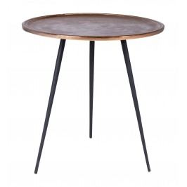 Tisch Schwarz/ Kupfer Canett Eldeen Aluminium Klassisch