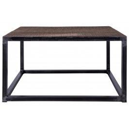 Tisch Dunkelbraun Canett Doowkcalb Holz Vintage
