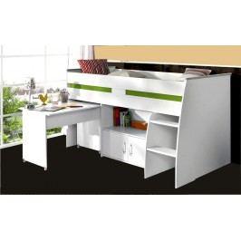 Hochbett 90 X 200 Cm Weiss Parisot Reverse Weiß Holz Modern