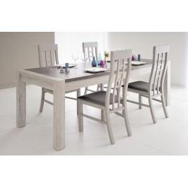 Esstisch 180 X 90 Cm Mit Stühlen Portofino Grey Mit Porensturktur/ Steinoptik Parisot Malone Grau Holz Modern