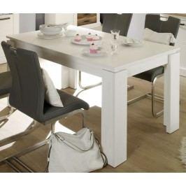 Esstisch 160 X 90 Cm Ausziehbar Pinie Struktur Weiss Trendteam Universal Pinie Weiß Holz Modern