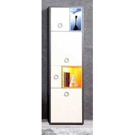 Regal Grau/ Weiss Mit Türen Forte MÖbel Colors Weiß Holz Modern