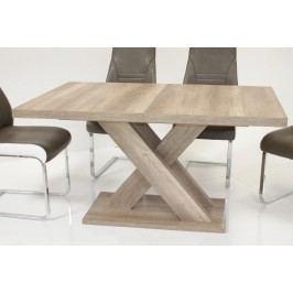 Esstisch Wildeiche Mit Kreuzgestell Top Form Andre 120 Holzwerkstoffe Modern