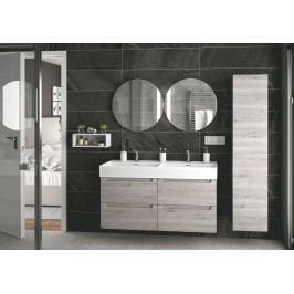 Badezimmer Kiefer-Grau Salgar Yerretnom Holz
