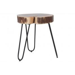 Tisch Natur/ Schwarz Canett Airotciv Holz Landhaus