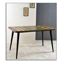 Tisch Aus Reyceltem Altholz Massiv Mit Metallfüssen Sit-Möbel Miami Recycled Altholz Massiv Stylisch