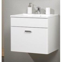 Mineral-Marmor-Waschtisch 60 Cm Pelipal Weiß Modern