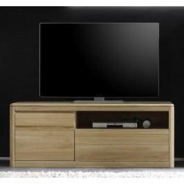 Tv-Unterteil Eiche Bianco Massiv Geölt & Gewachst Inter-Furn 1n Holz Modern