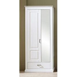 Garderobenschrank Pinie Hell Innostyle Lima Weiß Holz Modern