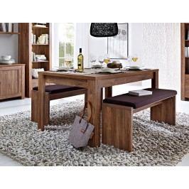 Esstisch 160(240) X 90 Cm Akazie Dunkel Innostyle Brüssel / Gent Holz Modern