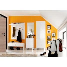 Garderobenkombination In Weiss Hochglanz Lackiert Mca-Furniture Whitney Weiß Mdf Modern