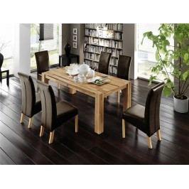 Esstisch 200 X 100 Cm Mit 6 Stühlen Mca-Furniture Holger Buche Holz Modern