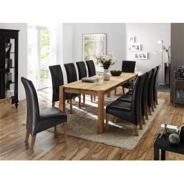 Esstisch 160 X 90 Cm Mit 10 Stühlen Mca-Furniture Holger Buche Holz Modern