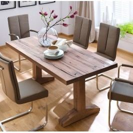 Esstisch 220 X 100 Cm Eiche Massiv Bassano Lackiert Mca-Furniture Chnul Holz Neutral