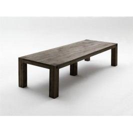 Esstisch 400 X 120 Cm Eiche Massiv Verwittert Lackiert Mca-Furniture Deeds Modern