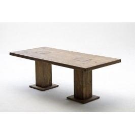 Esstisch 220 X 100 Cm Eiche Massiv Bassano Lackiert Mca-Furniture Chicago Modern