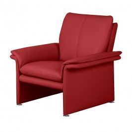 Sessel Capri - Echtleder Rot, Nuovoform