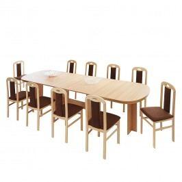Kulissentisch Marianne (mit Ausziehfunktion) - Buche Dekor, Home Design