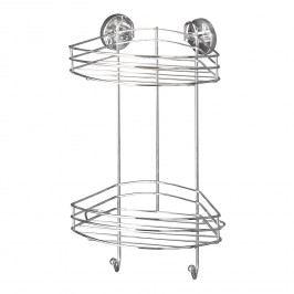 Eckregal Boro Vacuum-Loc - Stahl - Chrom, Wenko