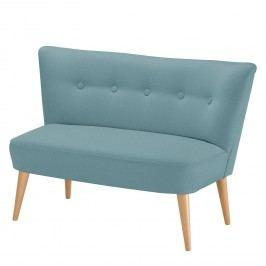 Sofa Bumberry (2-Sitzer) Webstoff - Mintgrau, Morteens
