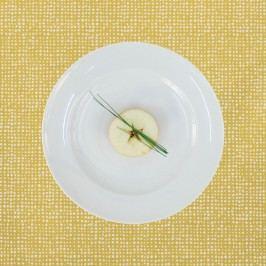 Tischset Outdoor I - Mischgewebe - Apricot - Maisgelb, Apelt
