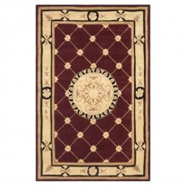 Teppich Federica - Rot / Beige - 121 x 182 cm, Safavieh