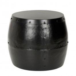 Beistelltisch Hogan - Stahl - Schwarz, Safavieh