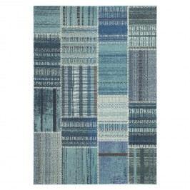 Teppich Deltana Woven - Kunstfaser - Türkis - 154 x 231 cm, Safavieh