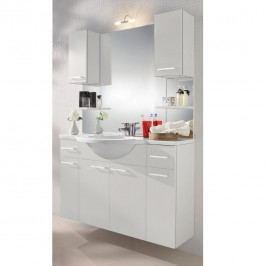 Waschplatz Auro - Weiß - Mit Beleuchtung, Posseik