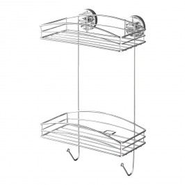 Wandregal Boro Vacuum-Loc - Stahl - Chrom, Wenko