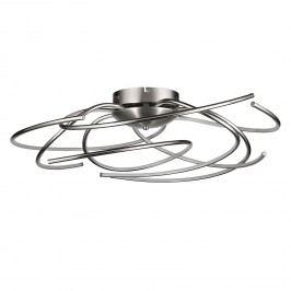 EEK A+, LED-Deckenleuchte Salina Twist - Acrylglas / Metall - 1-flammig - 70, Trio