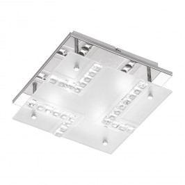 EEK A+, LED-Deckenleuchte Bois - Metall / Glas, Wofi