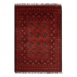Teppich Afghan Bouchara - Rot - 100 x 150 cm, Parwis
