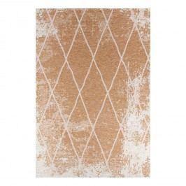 Teppich Fine (maschinellgewebt)- Kunstfaser - Hellbraun / Weiß - 140 x 200 cm, Tom Tailor