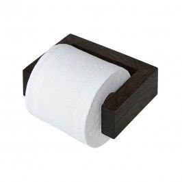 Toilettenpapierhalter Slimline - Eiche Dunkel, Wireworks