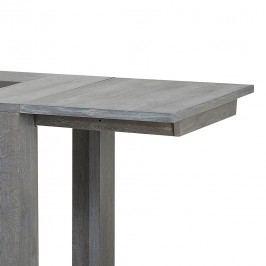 Ansteckplatten Titan (2er-Set) - Eiche teilmassiv - Grau, Parisot Meubles