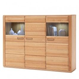Highboard Structura - Kernbuche, Naturoo