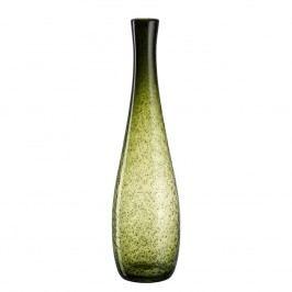 Vase Giardino - Glas - 50 - Schwarz / Hochglanz Grün, Leonardo