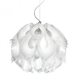 EEK A++, Pendelleuchte Flora Nobile - Lentiflex / Metall - 1-flammig - Weiß, Slamp