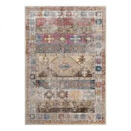 Vintage-Teppich Yasmeen - Kunstfaser - Mehrfarbig - 243 x 304 cm, Safavieh