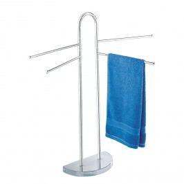 Handtuch- & Kleiderständer - halber Fuß, 4 schwenkbare Arme - Chrom, Wenko
